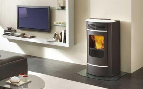 Calefacción con caldera de pellets