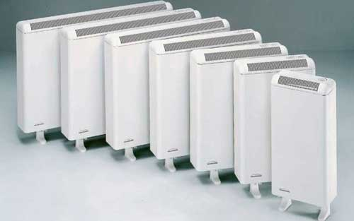 Radiadores eléctricos acumuladores de calor para calefacción en Zamora